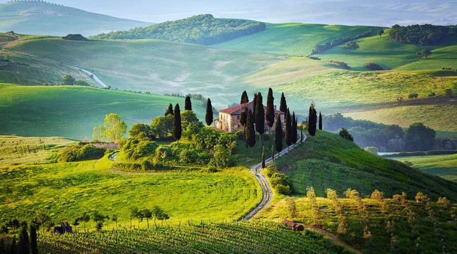 صورة للطبيعة الساحرة في الشمال الايطالي