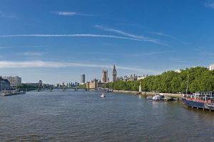 جولة في نهر التايمز - لندن