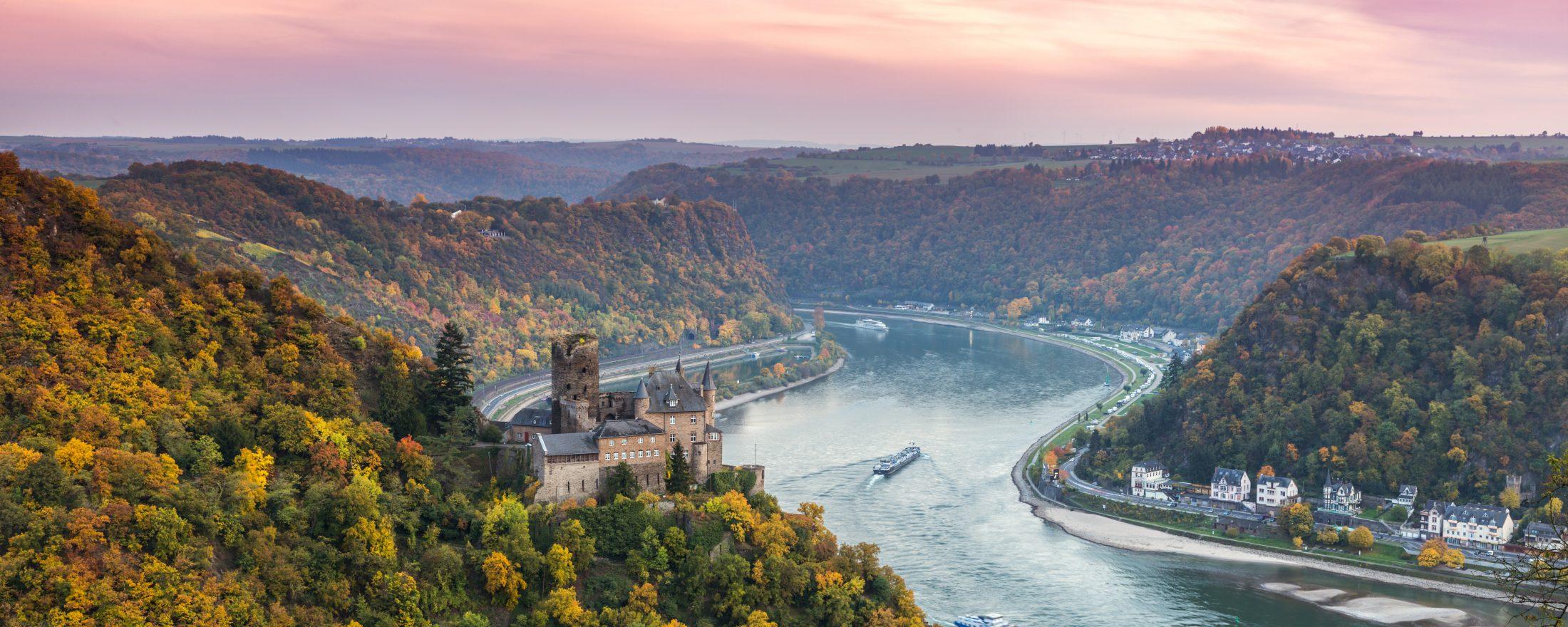 اهم 3 ميزات في نهر الراين سويسرا