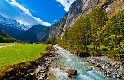 اشهر 7 معالم في وادي لوتربيرن سويسرا