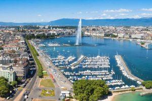 الوصول الى مدينة جنيف والتجول فيها - سويسرا