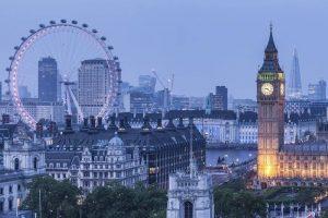 الوصول الى مدينة لندن - لندن