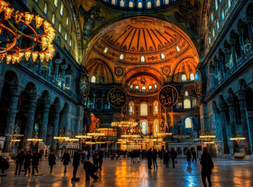 متحف أيا صوفيا تركيا
