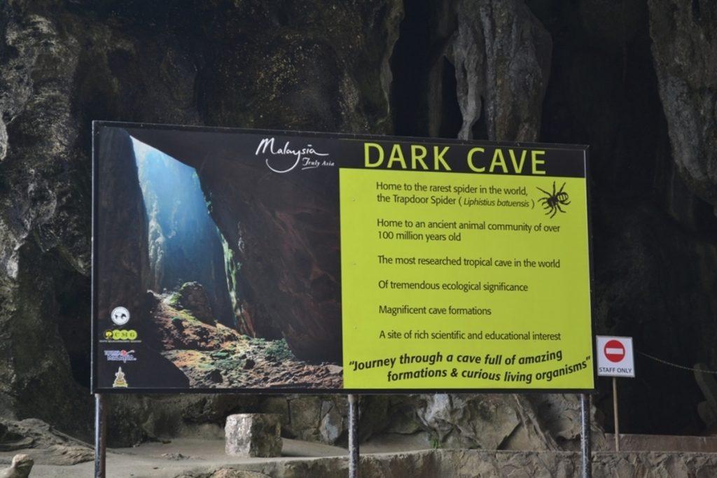 صورة الكهف المظلم في كهوف باتوكيف