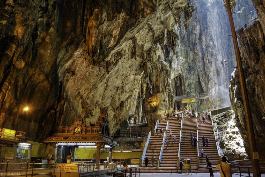 صورة معبد الباتوكيف من الداخل