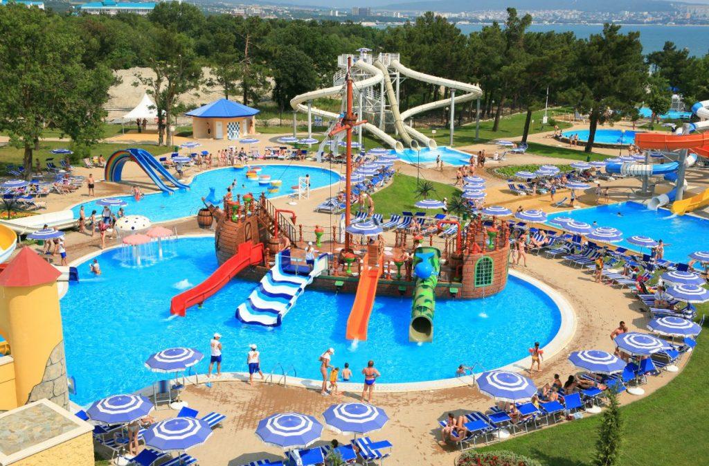 المدينة المائية انطاليا Antalya Aqualand تركيا