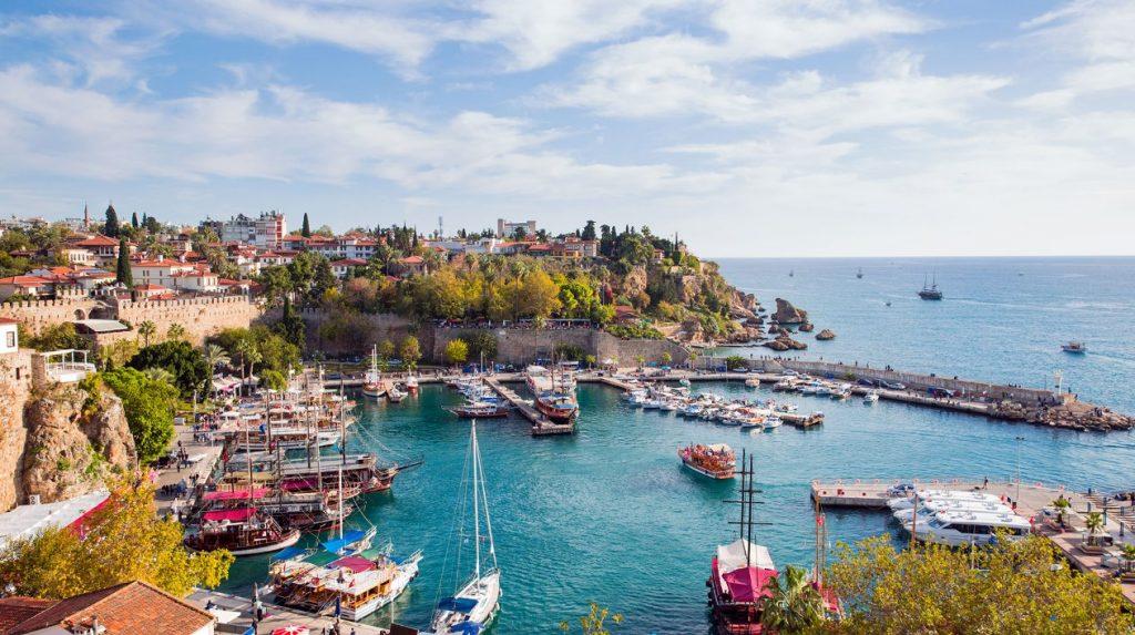 الميناء القديم أنطاليا Antalya Old Port Marina تركيا