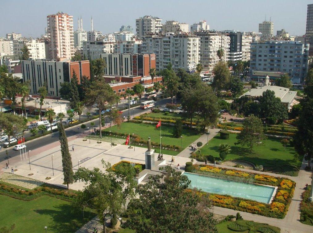 حديقة أتاتورك أنطاليا Ataturk Parki antalya تركيا