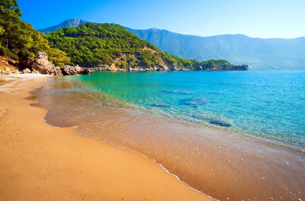 beaches antalya شواطئ انطاليا تركيا