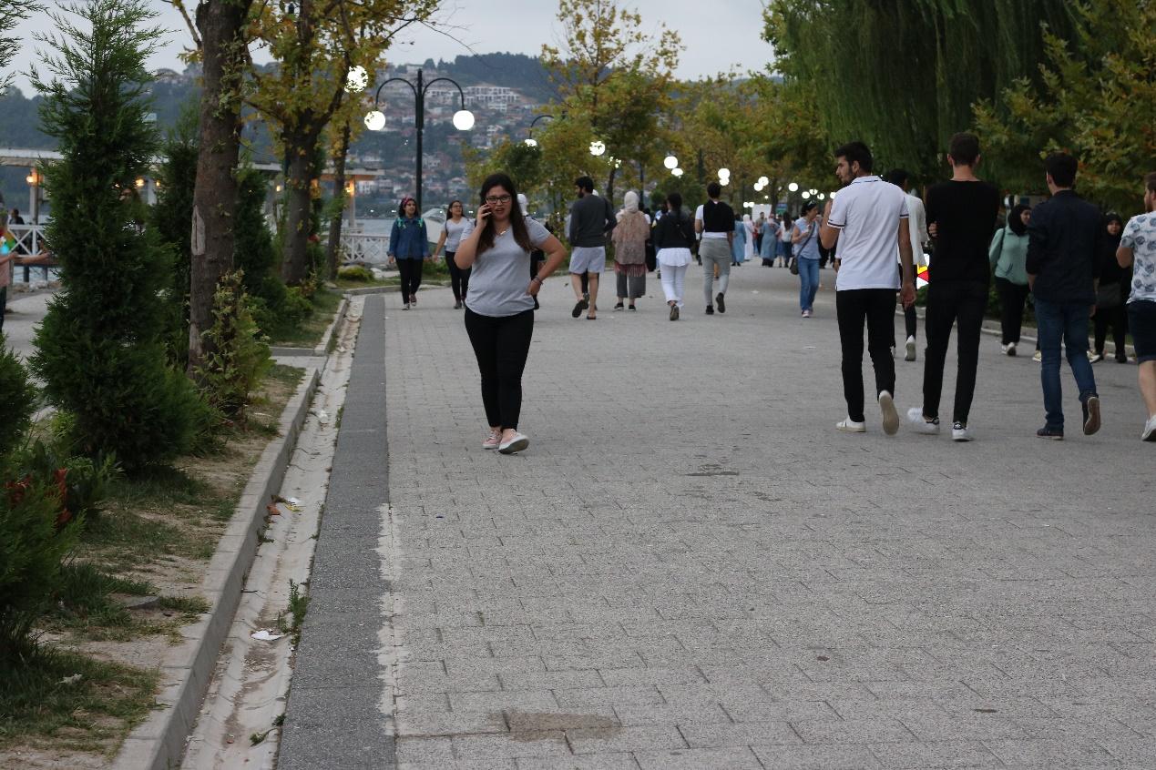 رياضة المشي بحيرة سبانجا