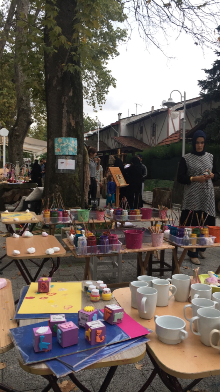 محلات للفنون في سبانجا