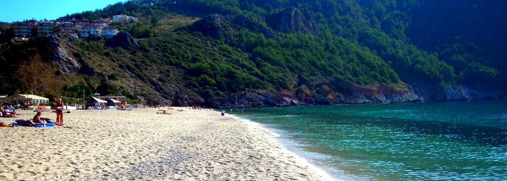 شاطىء أوليمبوس Olympos Beach
