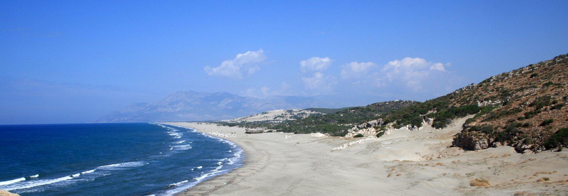 شاطئ باتارا Patara Beach