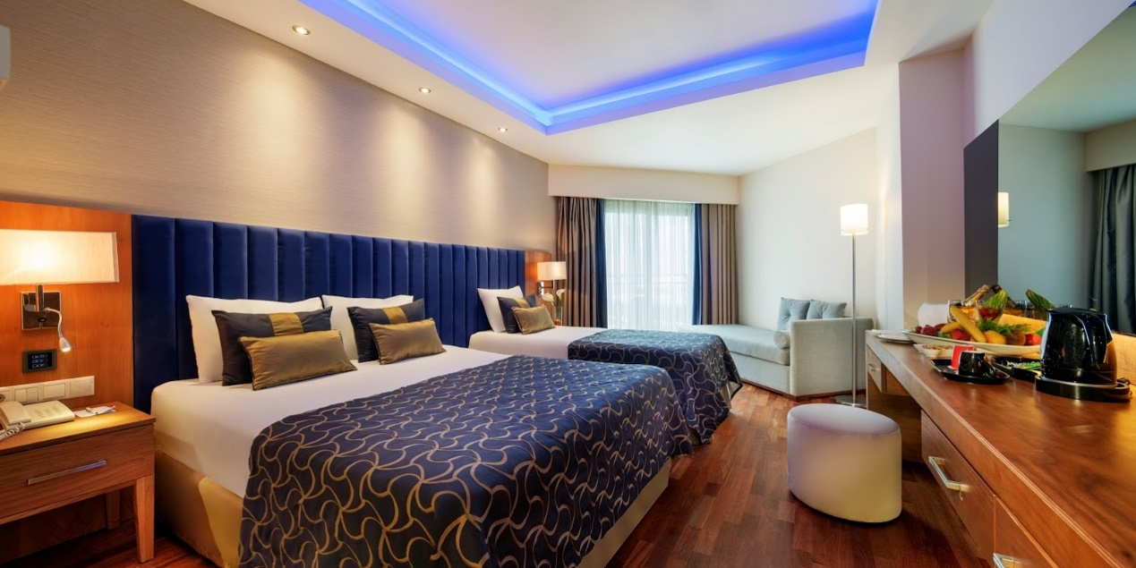 الغرف في فندق ليبرتي لارا انطاليا