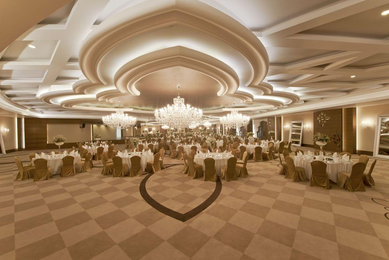 قاعات الإحتفالات و المؤتمرات
