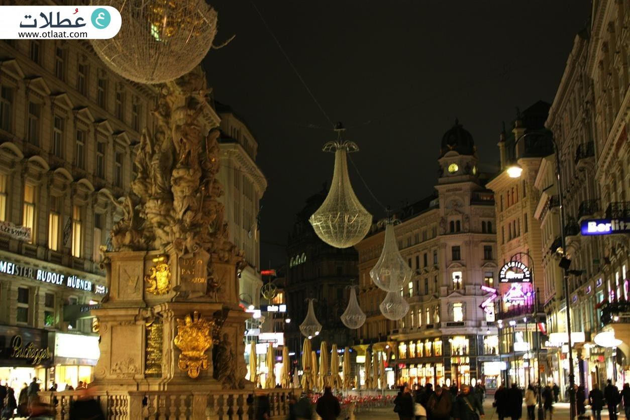 شارع كارنتنير من أفضل أماكن تسوق في فيينا