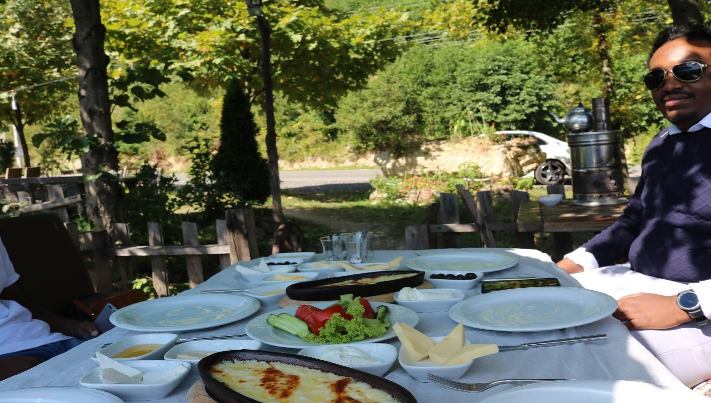 أكلات لذيذة في مطاعم تركيا