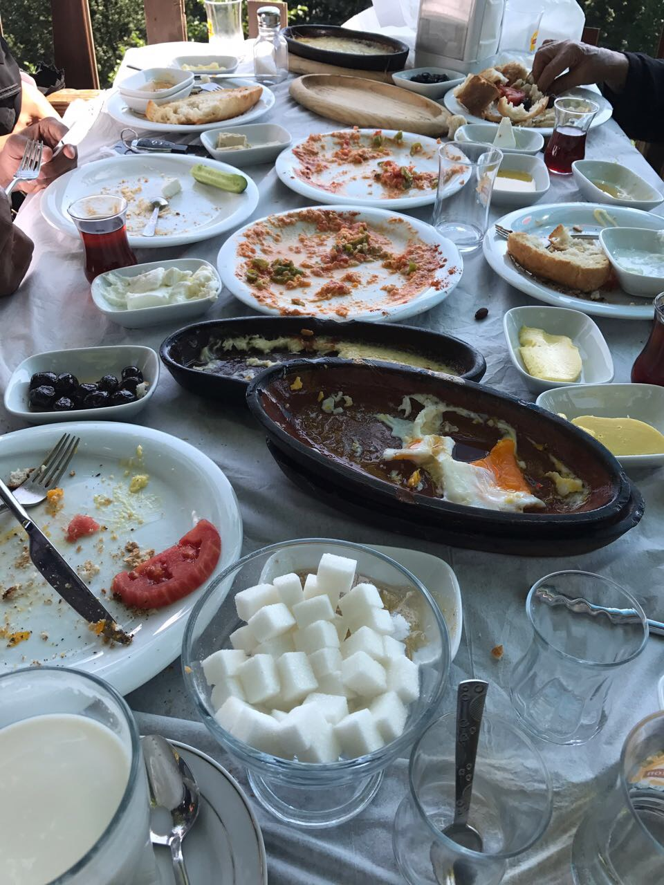 أطباق لذيذة في مطاعم تركيا