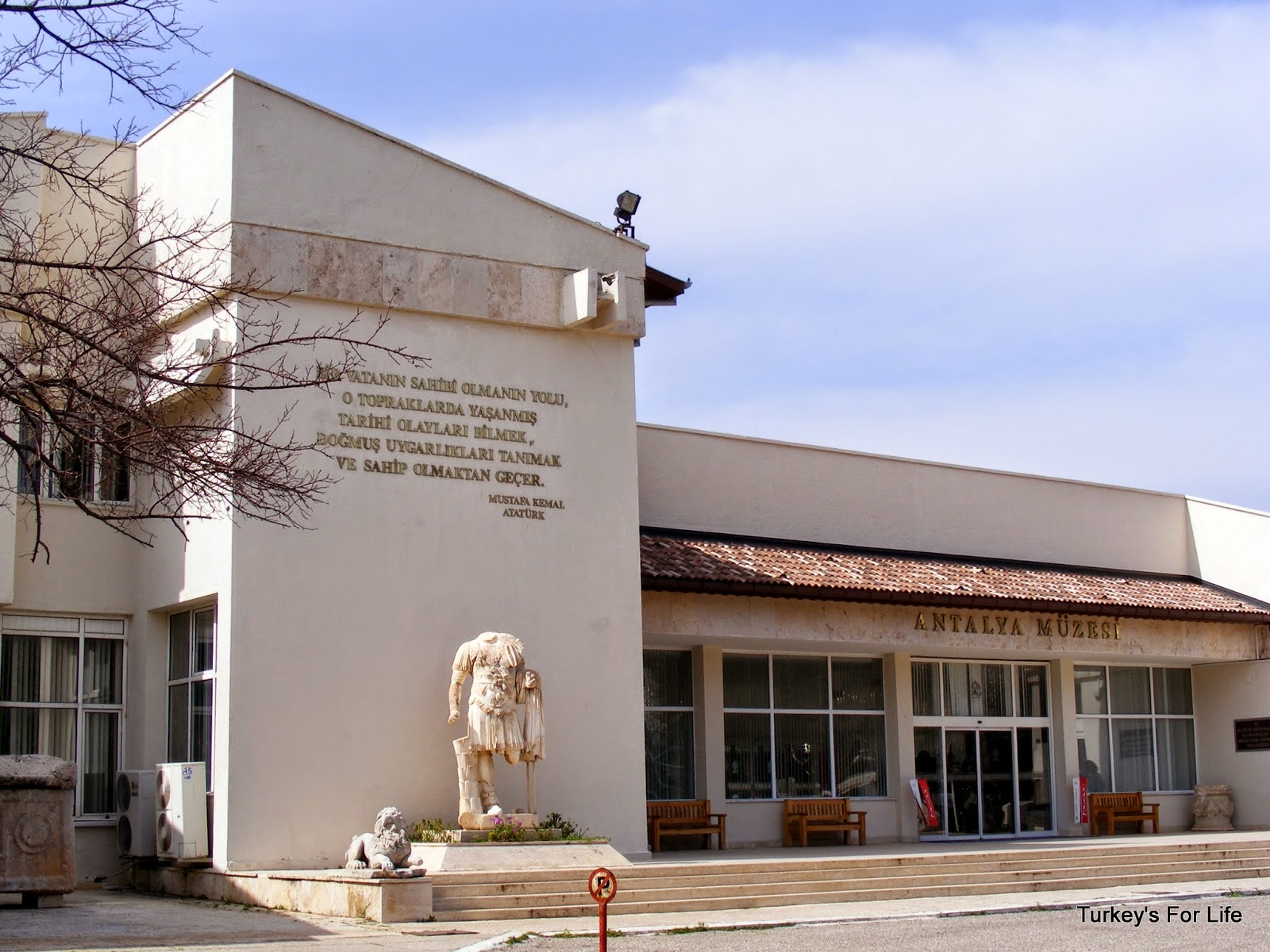 متحف انطاليا تركيا
