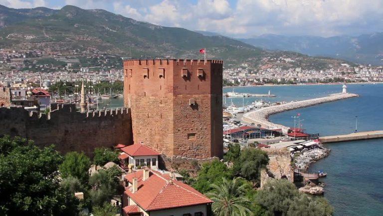 مدينة آلانيا التركية
