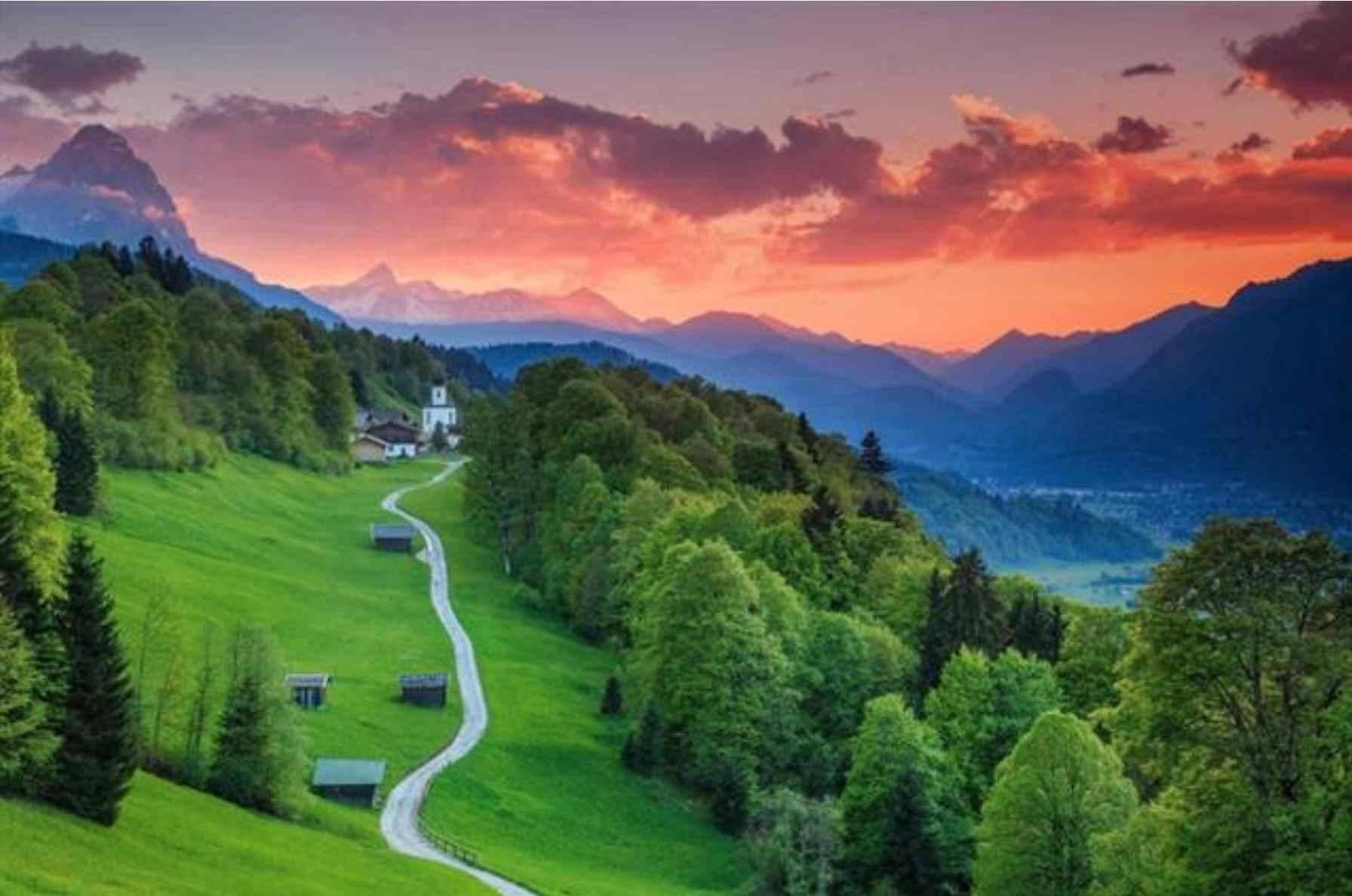 القرى الألمانية