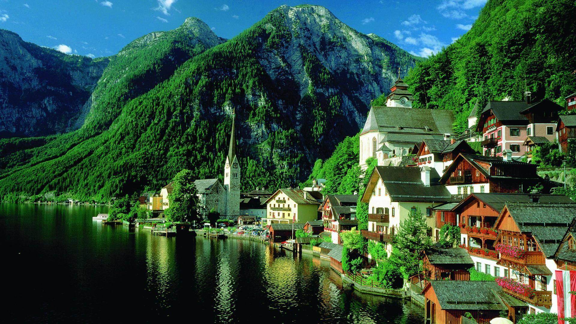 القرى النمساوية